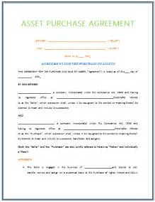 asset purchase agreement template bookmark template bestsellerbookdb