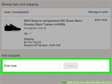 How To Buy Ebay Gift Card - how to buy from ebay with ebay gift cards 13 steps