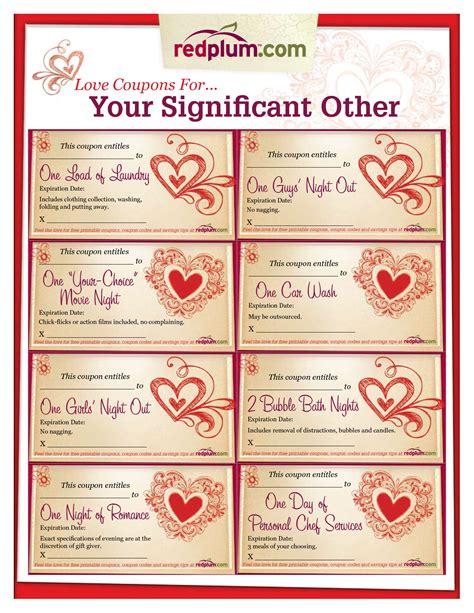 printable book of love coupons romantic love coupon template printable love coupons for