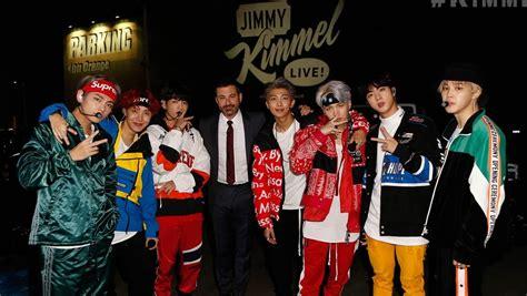 Bts Jimmy Kimmel Live | watch bts kills it at quot jimmy kimmel live quot mini concert