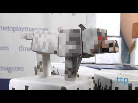 Minecraft Papercraft Snow Biome - minecraft papercraft snow biome target practice unboxing