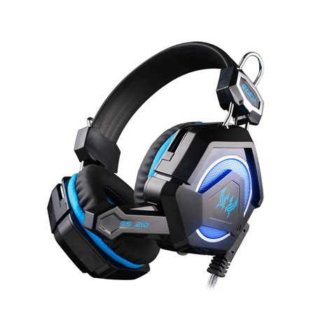 Headset Gaming Imperion G40 Led Light niyoque gs210 stereo gaming headphone computer headset headband with colorful breathing led