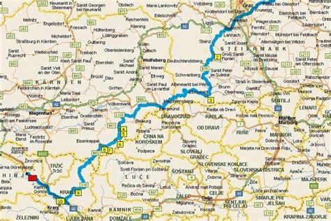 Motorradtouren Von Wien Weg by Motorradreisen
