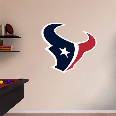 Texans Wall Decor by Size J J Watt Entrance Wall Decal Shop Fathead