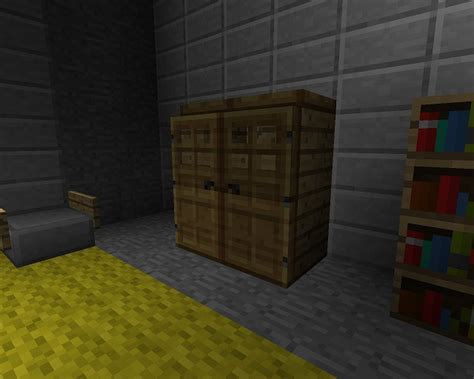 minecraft furniture bedroom a minecraft closet design
