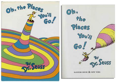 oh the places you ll go dr suess a dr seuss tradition oh the places you ll go