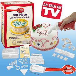 betty crocker 100 cake decorating kit as seen on tv