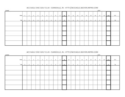 golf scorecards templates blank golf scorecards printable blank golf scorecard