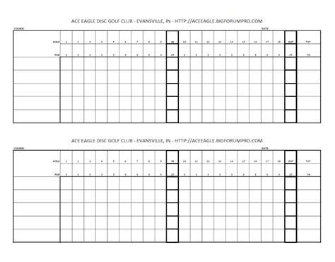 Blank Golf Scorecards Printable Blank Golf Scorecard Image Search Results Stuff To Buy Custom Golf Scorecard Template