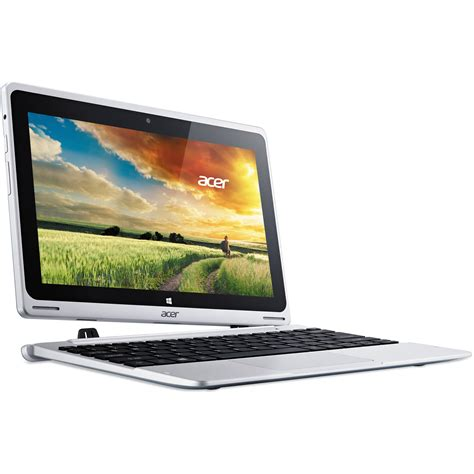 Netbook Acer Switch One Quadcore 2gb 32gb Mmc 500gb Hdd Win 10 acer aspire switch 10 sw5 011 18r3 10 1 quot nt l47aa 001 b h