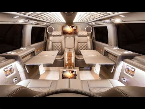interior of luxury homes 2018 top 7 luxury vans of 2017 2018 that will you