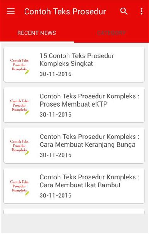 teks prosedur kompleks membuat facebook contoh teks prosedur kompleks android apps on google play