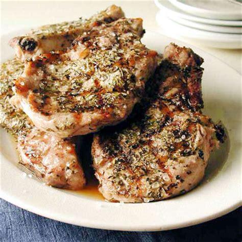 fire grilled pork chops recipe myrecipes
