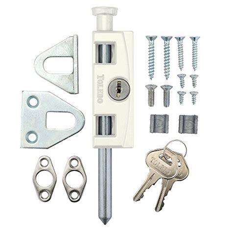 toledo window sliding patio door bolt lock tdp 02w