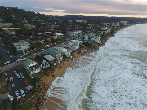 northern beaches sydney s northern beaches residents clean up after worst