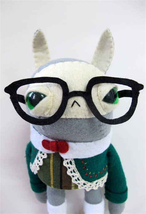 yeti plush pattern by amanda tepie 2013 year of the nerd cat rabbit plush diy