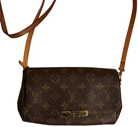 louis vuitton favorite pm  sold  monogram brown