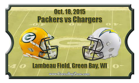 chargers tickets 2015 green bay packers vs san diego chargers football tickets