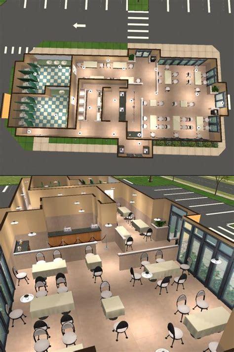 subway restaurant floor plan mod the sims taco bell