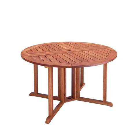Drop Leaf Patio Table Drop Leaf Patio Dining Table In Cinnamon Brown Pex 369 T