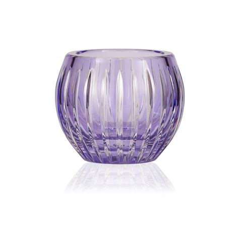 fine crystal shining star crystal tealight candleholder by gurasu