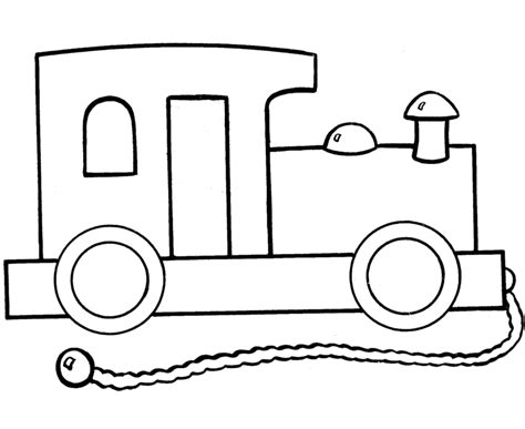free coloring pages of choo choo