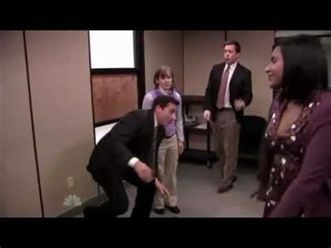 the office staying alive