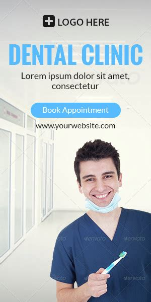 banner design for dental clinic gwd dental clinic html5 banners 07 sizes by themesloud