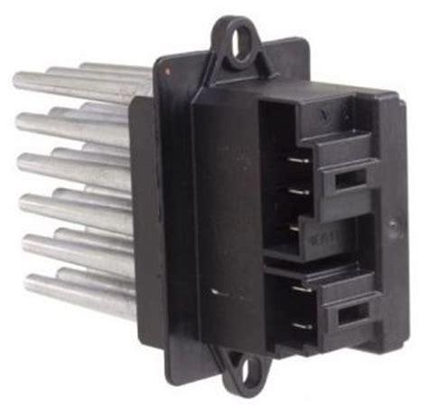 blower motor resistor for 2005 dodge caravan how to replace a blower motor on 2005 grand caravan fixya
