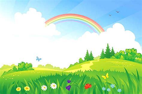 gambar pemandangan kartun harian nusantara