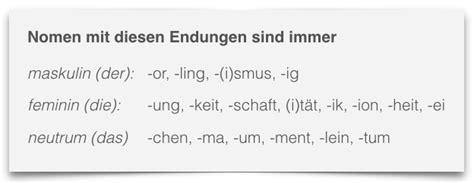 wann schreibt der die das deutsche artikel lernen beste tipps zum lernen