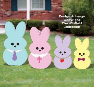 easter wood patterns easter yard peeper family