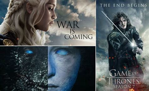 when of thrones season 7 18 stunning quot of thrones quot season 7 fan made posters
