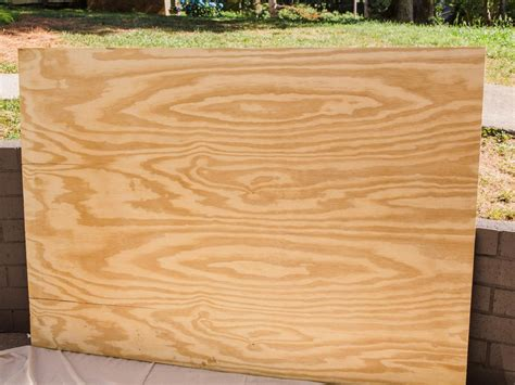 diy chalkboard using plywood diy oversized outdoor chalkboard hgtv