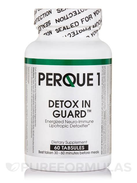 Detox Number by Perque1 Detox In Guard 60 Tabsules