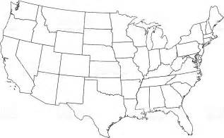 map of america outline usa map outline my