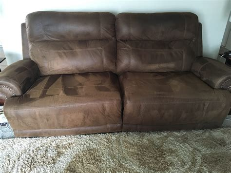 Ashley Leather Reclining Sofa Reviews Sofa Menzilperde Net