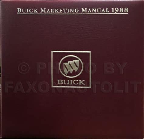 online car repair manuals free 1988 buick electra head up display 1988 buick lesabre electra park avenue repair shop manual original