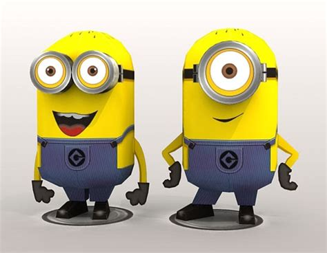 Despicable Me Papercraft - and free
