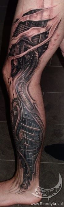 biomechanical tattoo quebec 51 best biomech leg tattoos images on pinterest