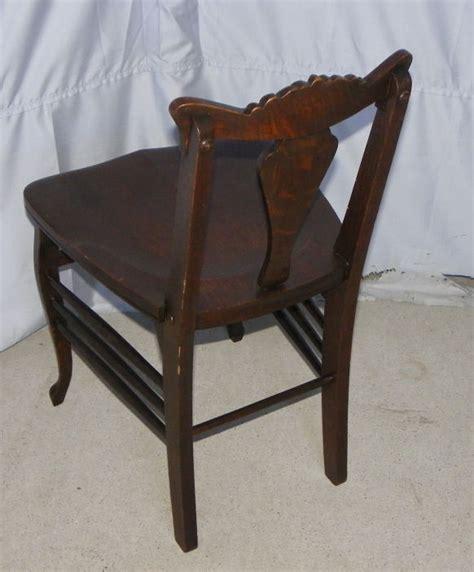 Antique Vanity Seat by Bargain S Antiques 187 Archive Antique Oak Vanity