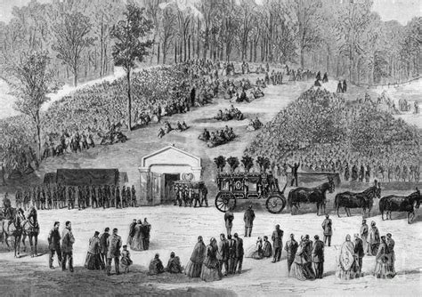 when was abraham lincoln buried abraham lincoln burial