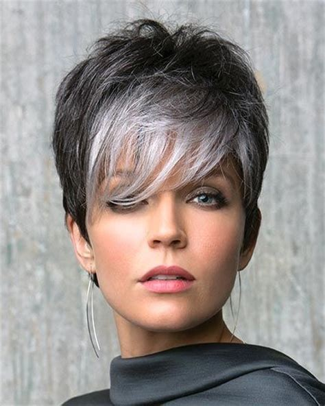 hip hairstyles for gray hair silver and trendy gray hairstyles beautiful hairstyle