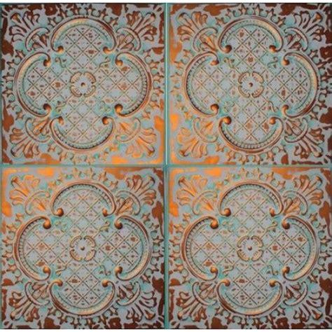 alaska color copper ceiling tile from www