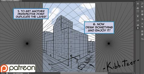 pattern in perspective photoshop perspective grid tutorial with photoshop cs6 by kibbitzer