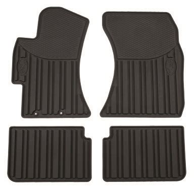 subaru forester floor mats all weather rubber slush style part no j501ssg200