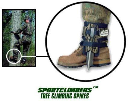 tree climbing shoes spikes climb high climb safe sport climbers