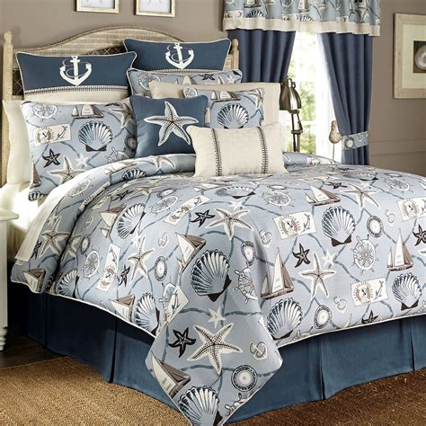 nautical bedding for yachtsman nautical comforter bedding by croscill