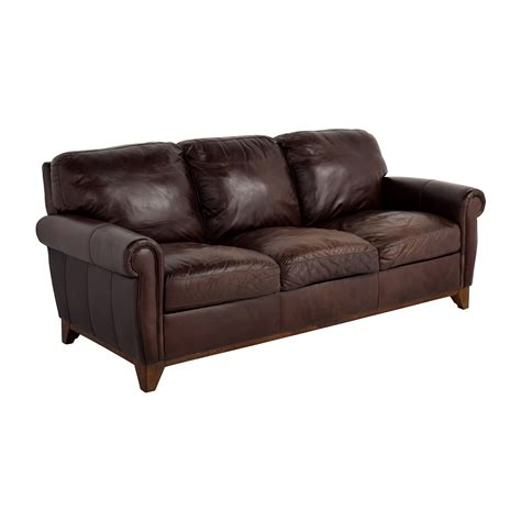 brown leather sofa bed raymour and flanigan brown sofa bed refil sofa