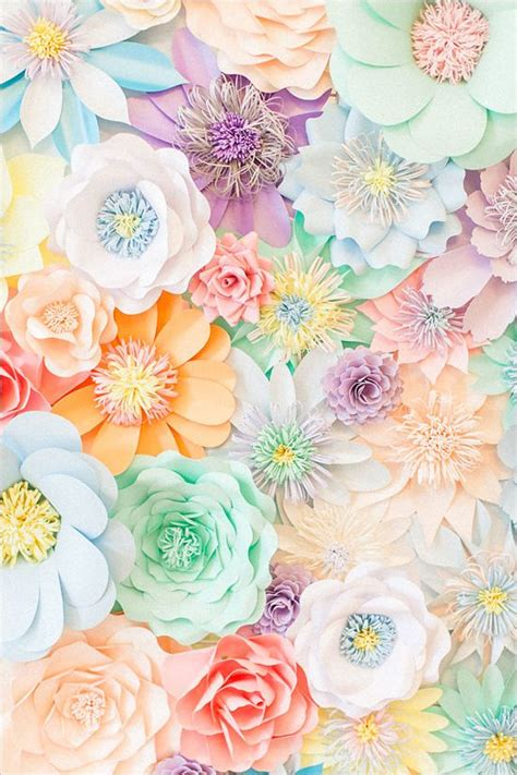 pastel flower pattern wallpaper pastel tea party wedding ideas pastel paper pastels and